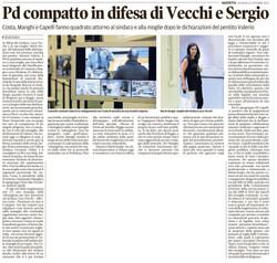 PD in difesa di Vecchi e Sergio