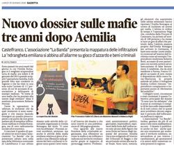Dossier tre anni dopo AEmilia