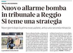 Allarme bomba - dalla prima pagina