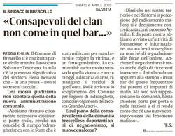 Brescello... non come in quel bar...