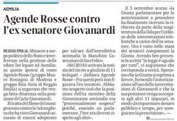 Agende Rosse contro Giovanardi