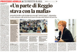 Parte di Reggio stava con la mafia