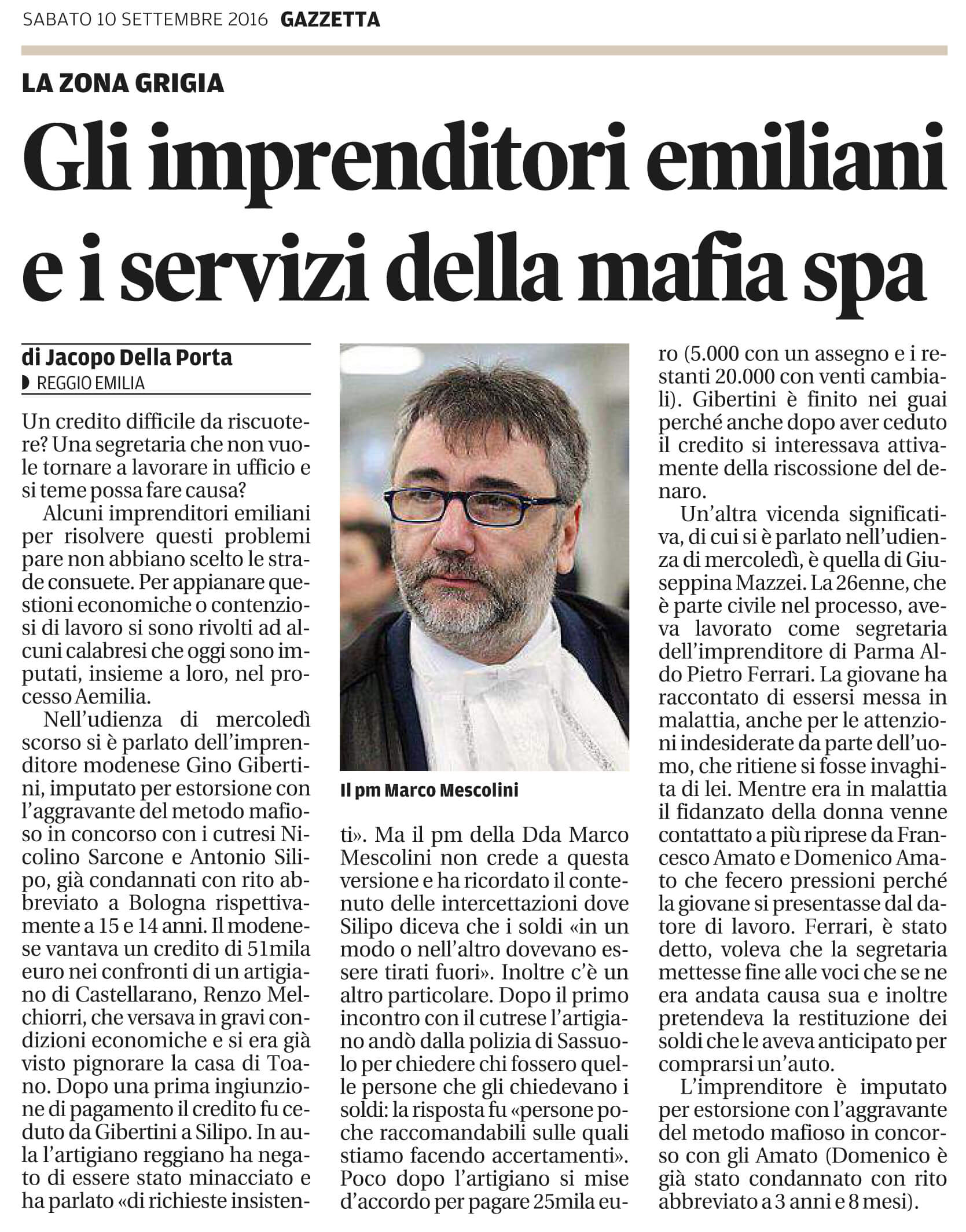 Gli imprenditori e la mafia spa