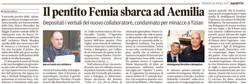 Il pentito Femia sbarca ad Aemilia
