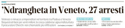 'Ndrangheta in Veneto
