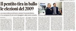 Il pentito e le elezioni del 2009
