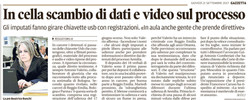 Scambio di dati e video in cella