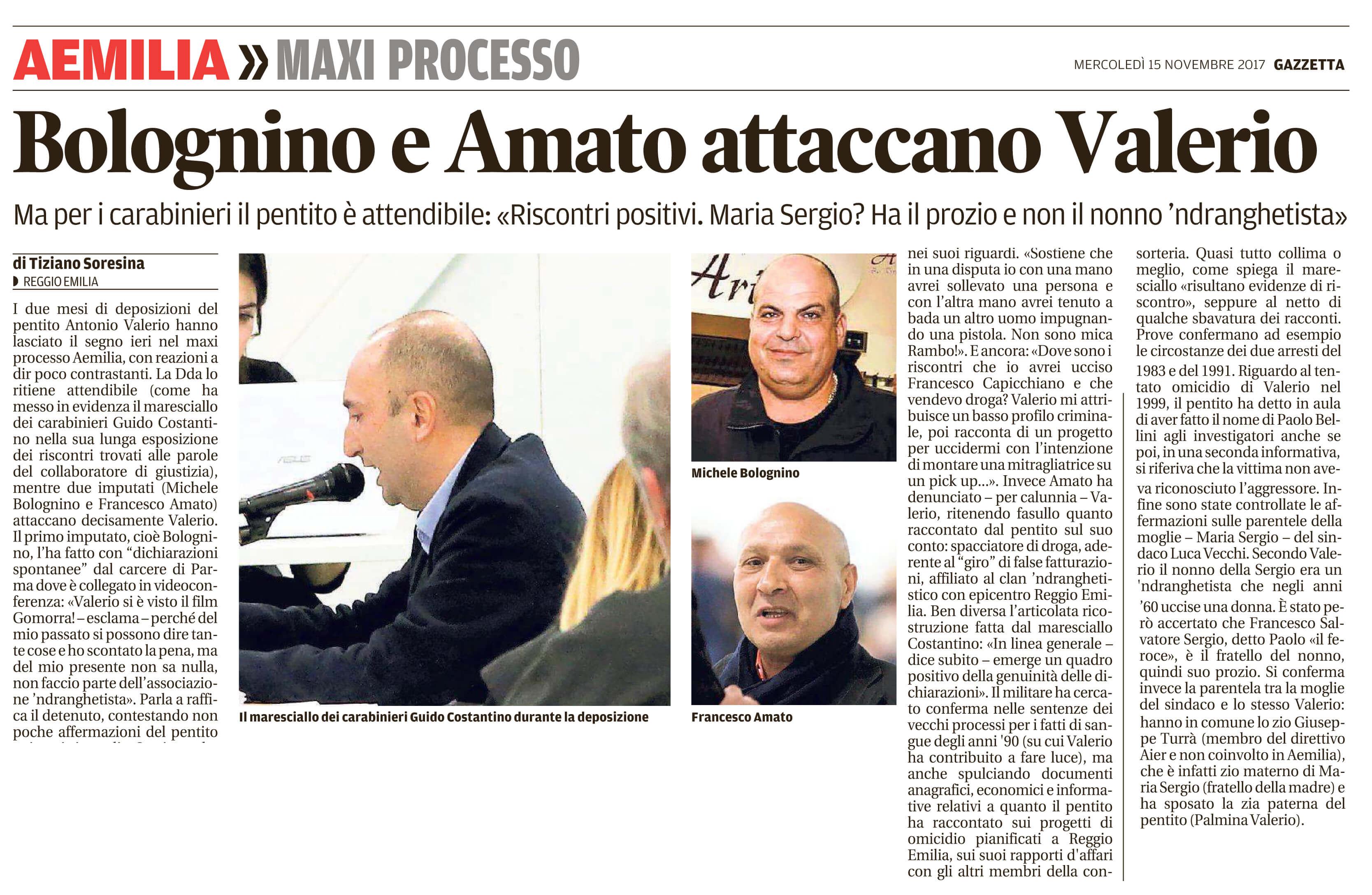 Bolognino e Amato attaccano