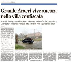 Grande Aracri vive ancora nella villa confiscata