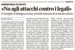"""""""No agli attacchi contro i legali"""""""