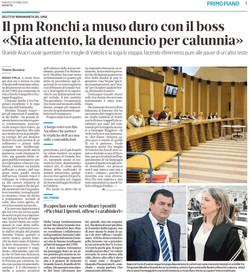 La stoccata della PM Ronchi