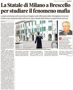 Studiare il fenomeno mafia