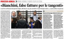 Bianchini, false fatture