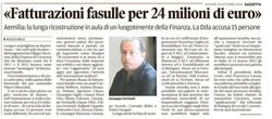 Fatturazioni fasulle per 24 milioni
