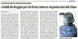 Soldi da Reggio per la festa cutrese