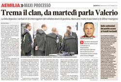Trema il clan, parla Valerio
