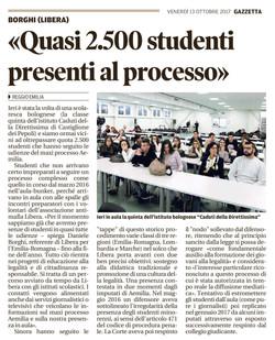 Quasi 2.500 studenti