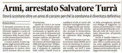 Arrestato Salvatore Turrà
