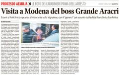 Il boss Grande Aracri a Modena