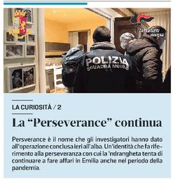 """Perchè """"perseverance"""""""