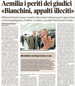 Bianchini, appalti illeciti