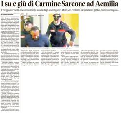 Carmine Sarcone ad AEmilia