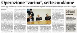 """Operazione """"Zarina"""""""