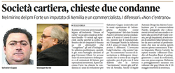 Chiese due condanne