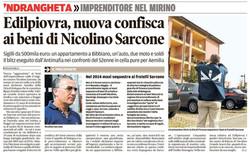 Edilpiovra, confisca a Sarcone