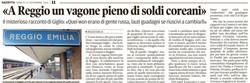 A Reggio un vagone pieno di soldi