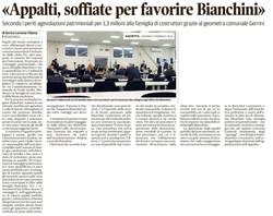 Appalti per favorire Bianchini