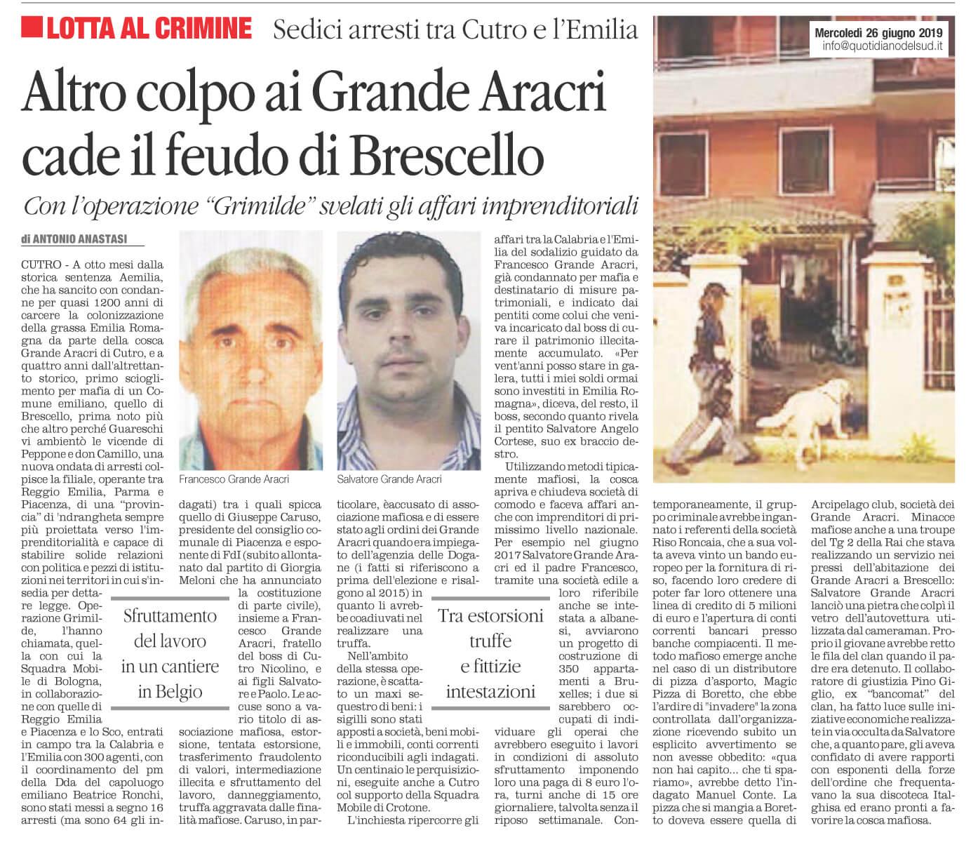 Cade il feudo di Brescello