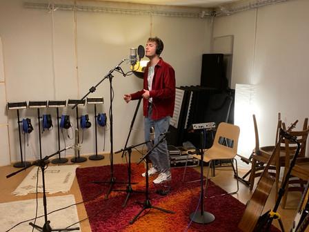 "Recording Session mit Nathaniel Cartier ""Zuger Troimer"""
