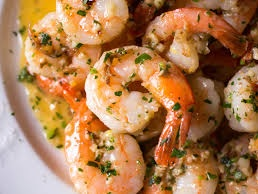 shrimp in white wine