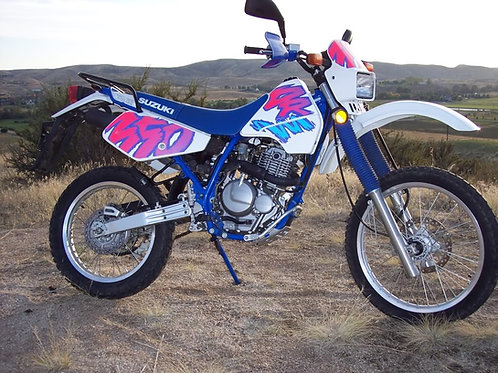 Suzuki DR350 LONG Rack