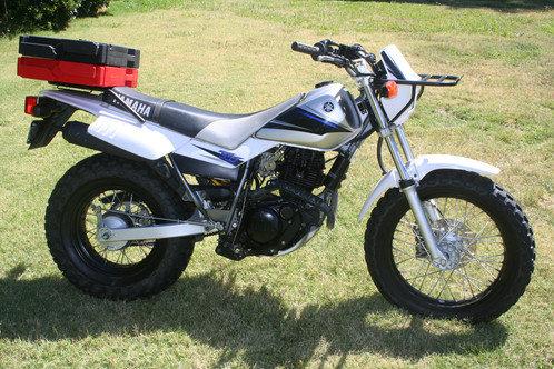 TW200 Front Rack