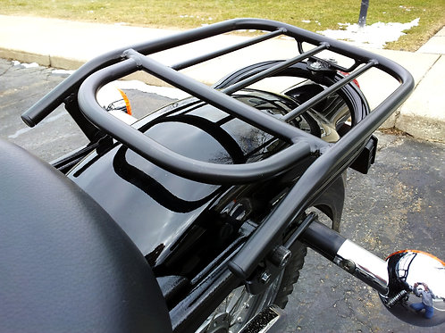 Suzuki TU250X Rear Fender Rack with  front bar