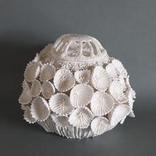 玉華蓋付飾壷