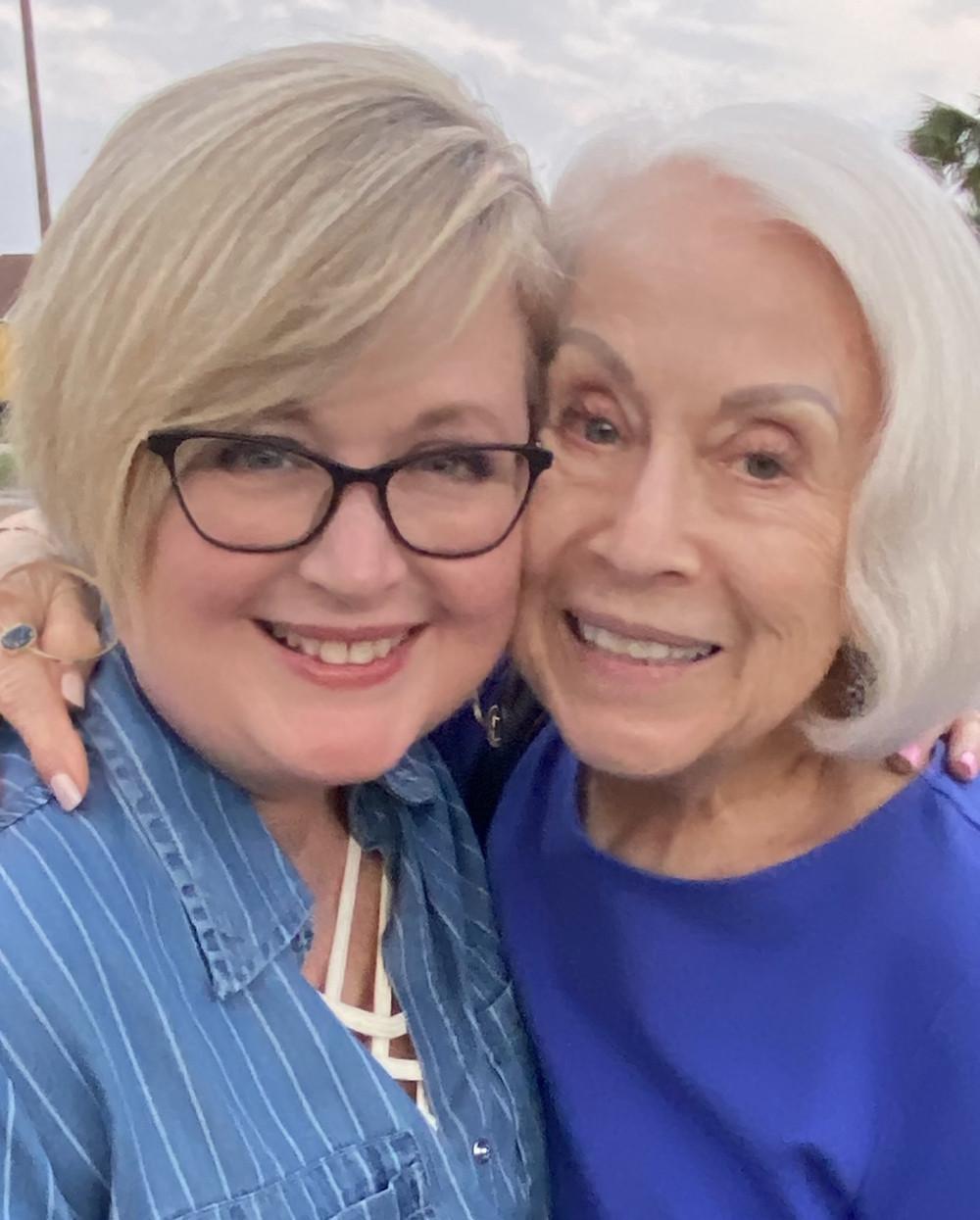Lori Williams and her mom