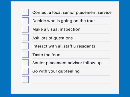 Tips on Touring Senior Communities (with checklist!)