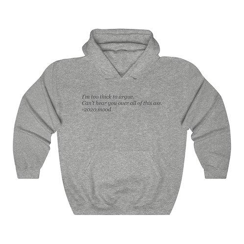 2020 Mood Hooded Sweatshirt