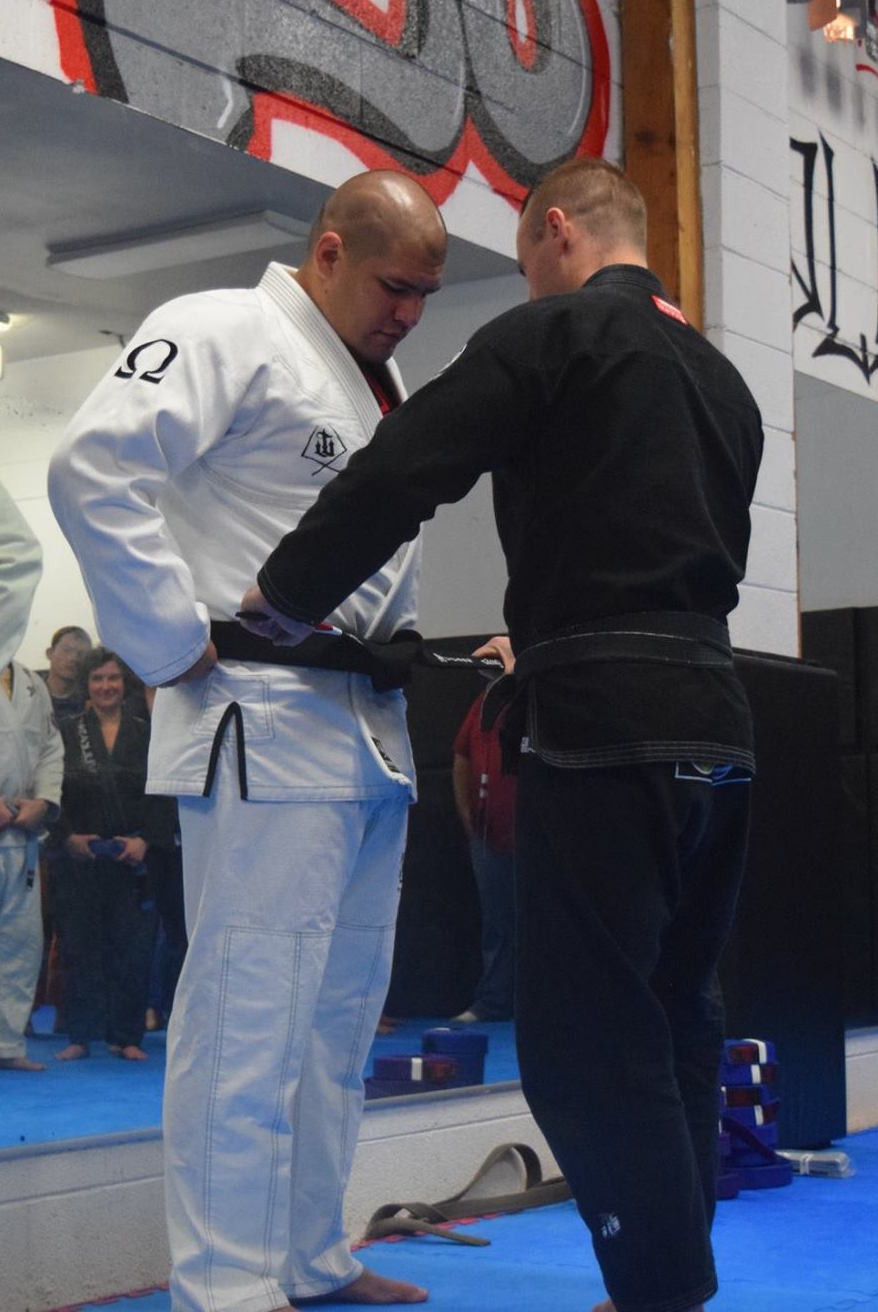 Brian Black Belt Promotion