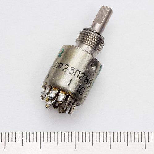 Переключатели ПР2-5П2Н до 1991 г.в.