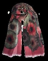 Stole  IRIS 67x180 Etamine 70% Wool 30% Silk