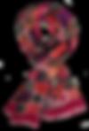 Echarpe 46x180 Mosaïque Iris
