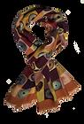 Scarf  46x180 Mosaïque Iris