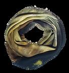 Shawl  IRIS 120x120 Twill 70% Wool 30% Silk