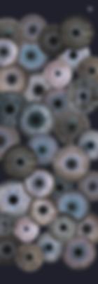Etole IRIS 67x180 Etamine 70% Laine 30% Soie