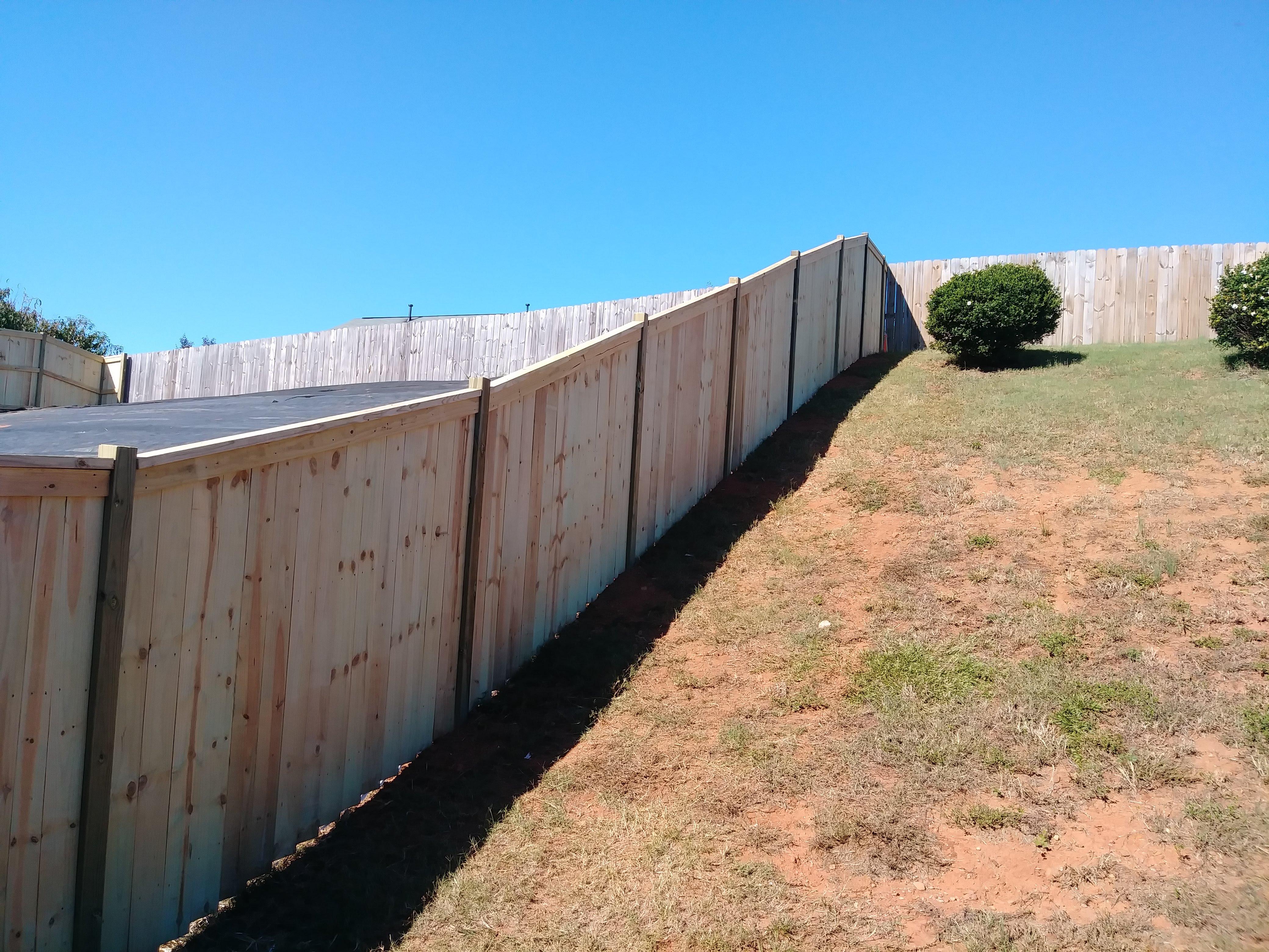 Charleston Style fence