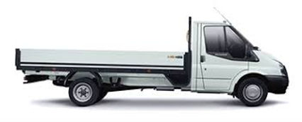 Ford Transit drop side truck